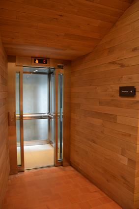 Un ascenseur a été créé