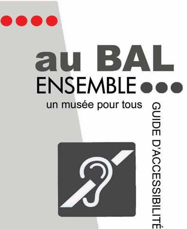 Couverture du guide de l'accessibilité destiné aux personnes mal-entendantes et sourdes.