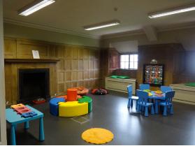L'espace pour enfants.