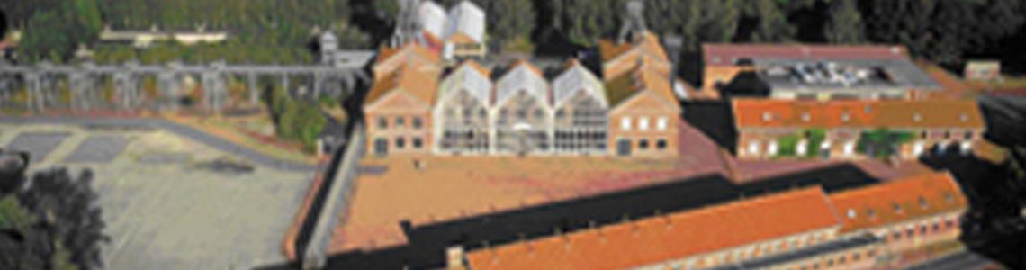 centre minier vue aérienne