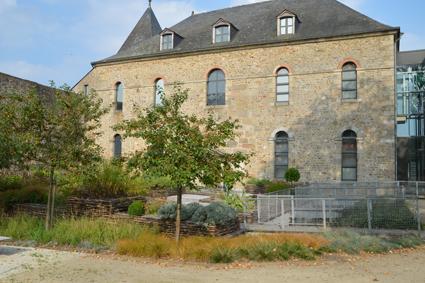 Jardin d'inspiration médiévale - Crédit photographique : Musée du château de Mayenne