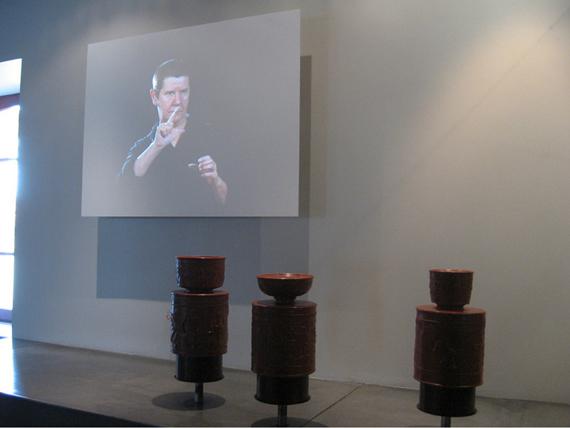 Projection des explications en Langue des Signes Française et maquettes tactiles
