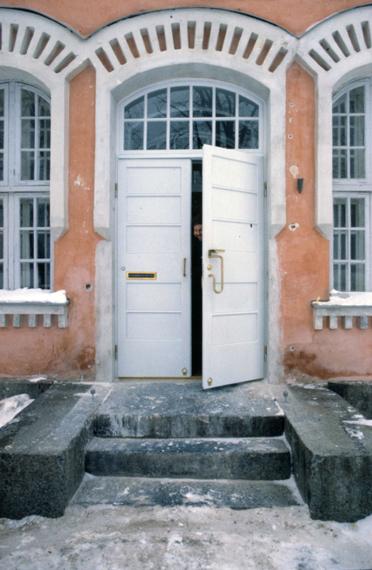 L'entrée de l'office de tourisme avant les travaux.