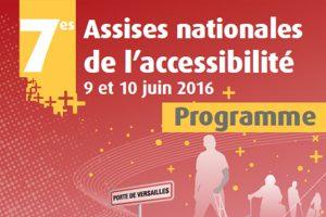 L'accessibilité du patrimoine représentée aux 7èmes assises nationales de l'accessibilité