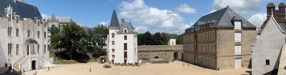 Chateau des ducs de Bretagne - panorama