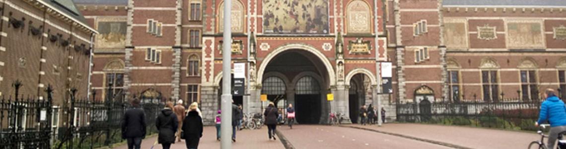 Vue extérieure du Rijskmuseum