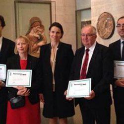 Aurélie Filipetti remet le Prix Patrimoines pour tous 2013