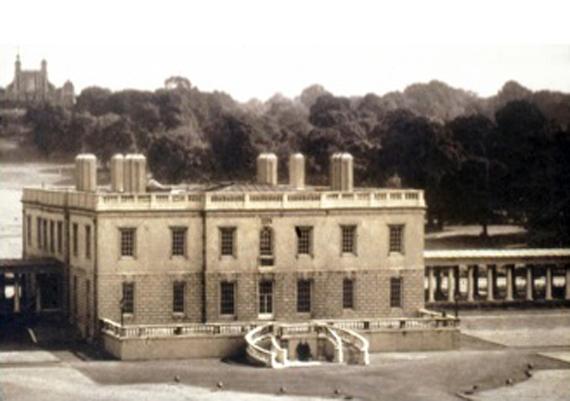 Vue du bâtiment à l'origine