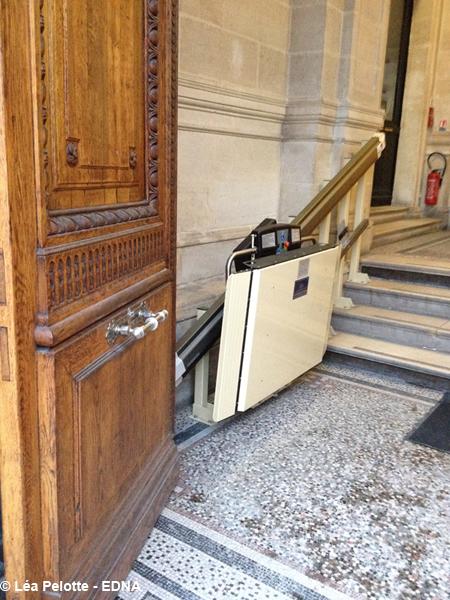 Musee des beaux arts de Bordeaux, la plateforme