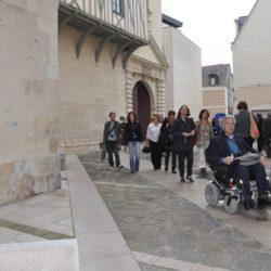 Le centre-ville historique accessible
