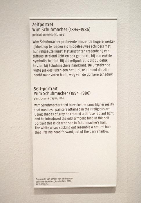 Cartel texte noir sur fond blanc