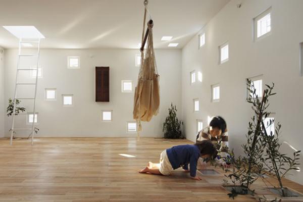 Takeshi Hosaka, une maison familiale aux cents fenêtres