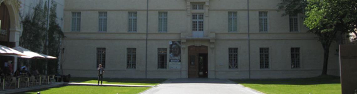 Entrée du Musée Fabre de Montpellier - Crédit photographique : Jean-Marie David Dinkley