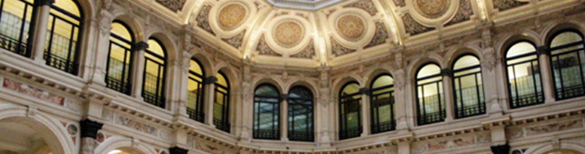 Palazzo Beltrami, salon Scala - Crédit photographique : Gallerie d'Italia