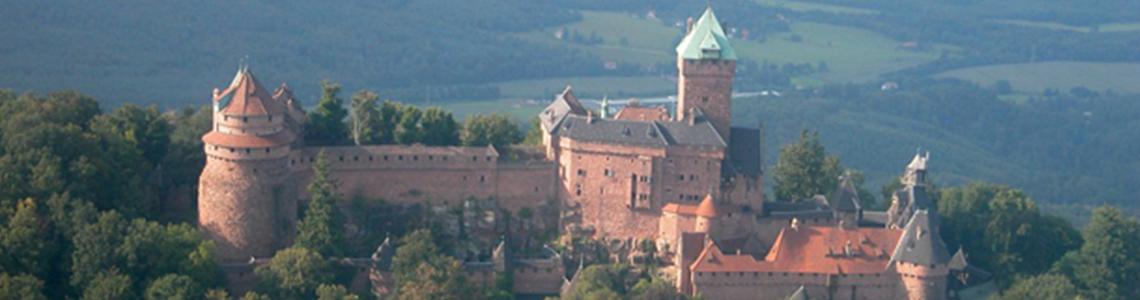 Haut Koenigsbourg vue aérienne 2
