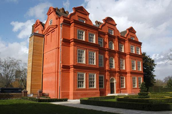 Kew Palace vue extérieure après extension