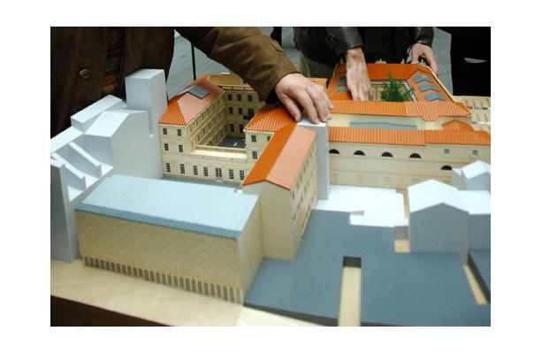 Maquette tactile du musée