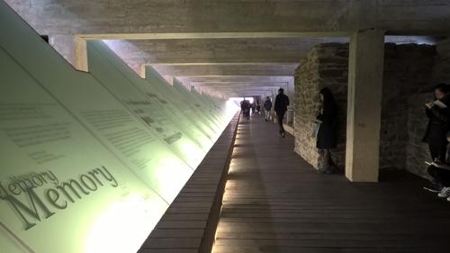 Visite du Mémorial