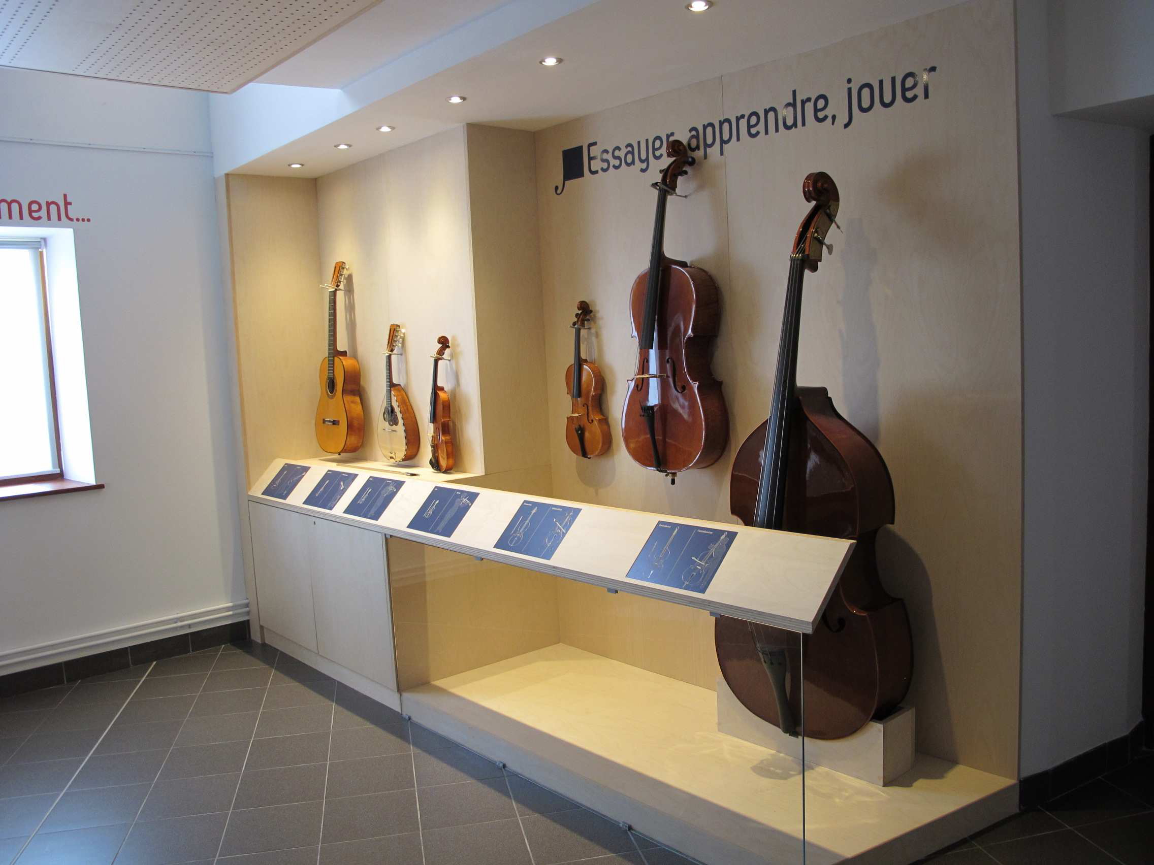 Instruments de musique en libre service