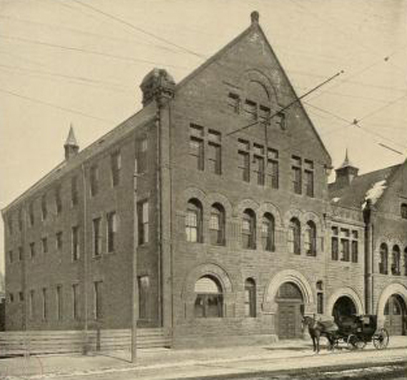 Image d'archive du Boston architecturale college