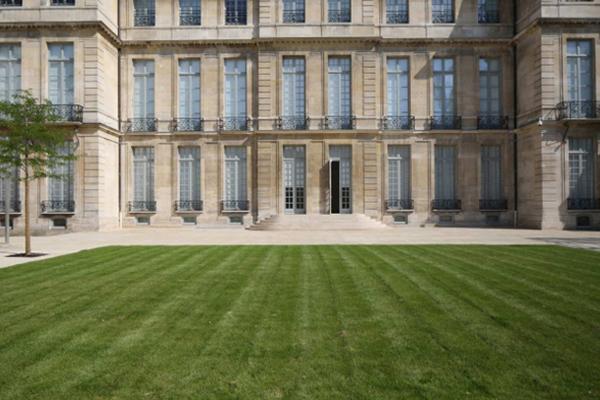 Le jardin de l'Hôtel Salé - Crédit photographique : Mathieu Bardelot, Bodin et associés