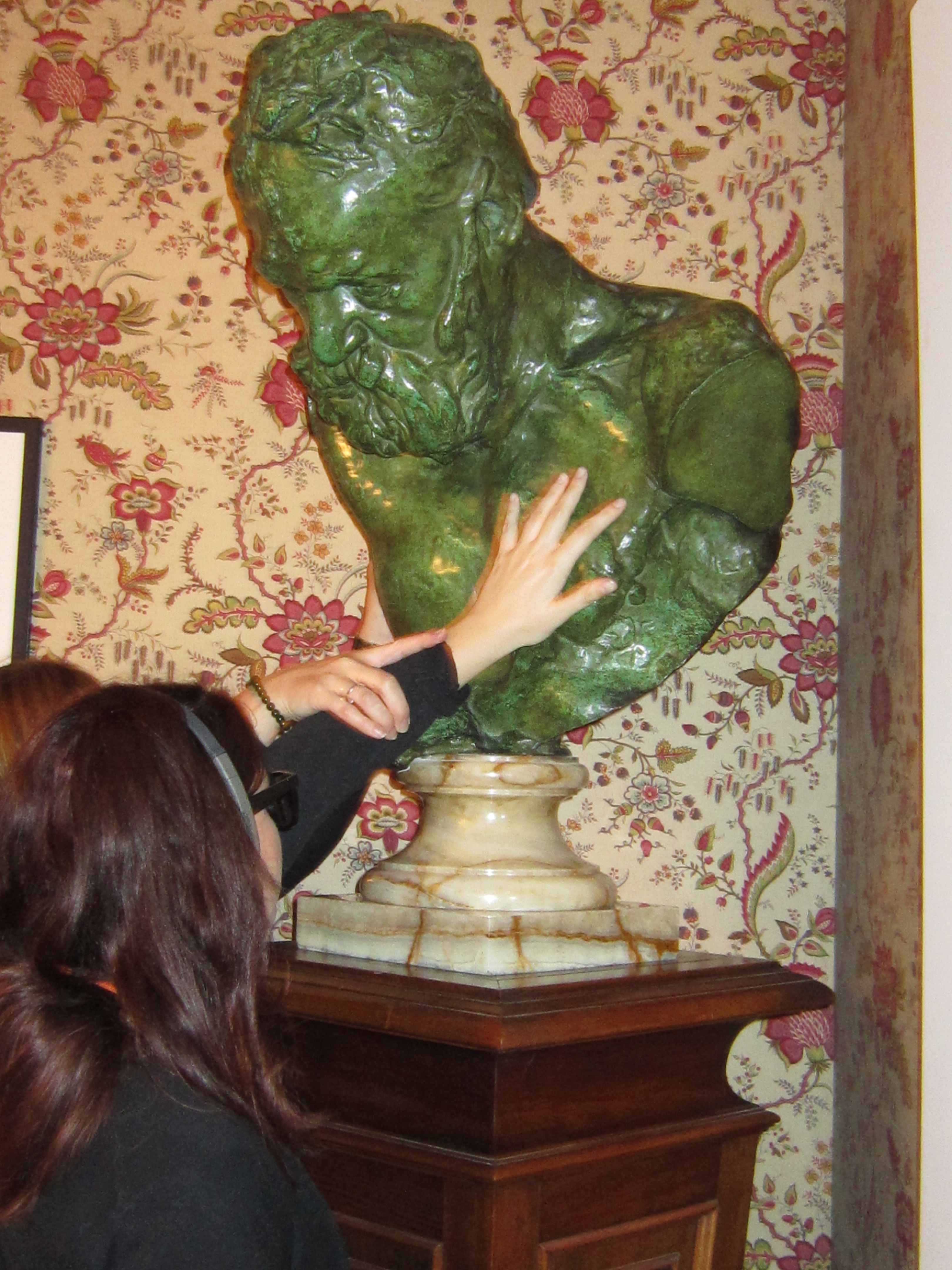 Buste de Victor Hugo par Rodin