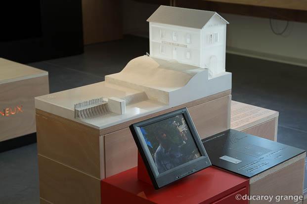 Maquette tactile architecturale - Crédit photographique : CIAP de Trévoux.