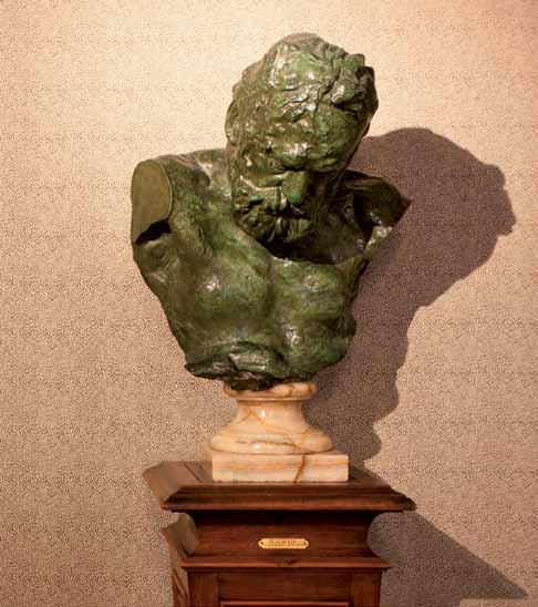 Le buste de Victor Hugo par Rodin - Crédit photographique Estelle Jeanne Poulalion, Maison Victor Hugo
