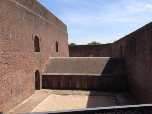 Fort Napoleon. Caponier.