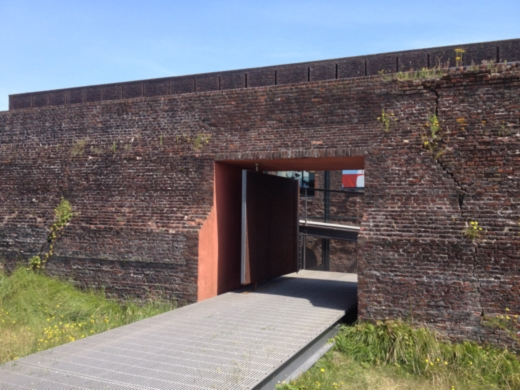 Main entrance of the Fort Napoleon