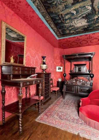 La chambre - Crédit photographique Estelle Jeanne Poulalion, Maison Victor Hugo