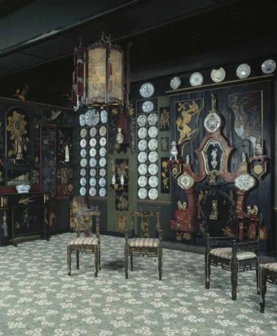 Le salon chinois - Crédit photographique Estelle Jeanne Poulalion, Maison Victor Hugo