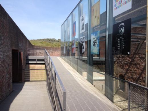Fort Napoleon. Glass & Steel ramp.