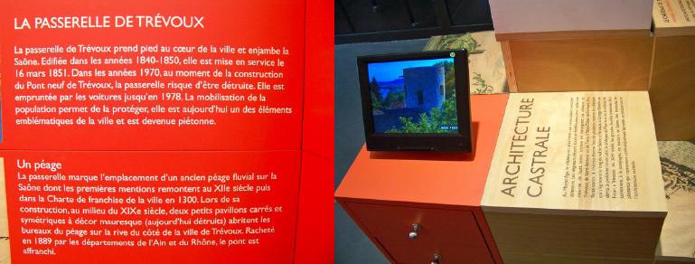 Différentes typologies de textes de médiation - Crédit photographique : CIAP de Trévoux.