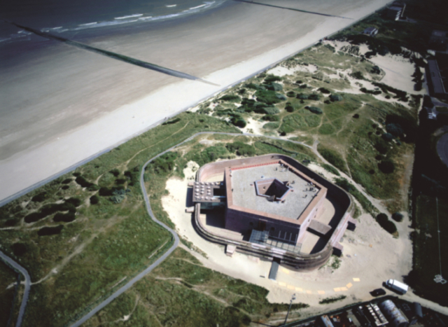 Fort Napoleon. Aerial view.