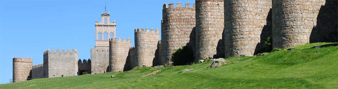 les remparts d'Avila