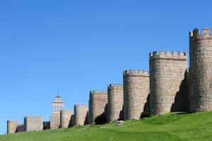 The wall of Ávila
