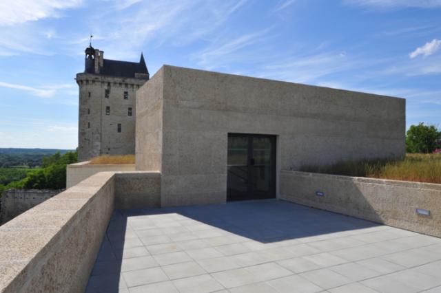 Le bâtiment d'accueil. Crédit photographique : Christophe Raimbault.