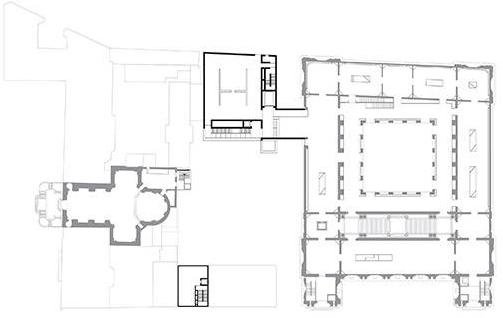 Plan du niveau 1. Crédit : Stanton Williams
