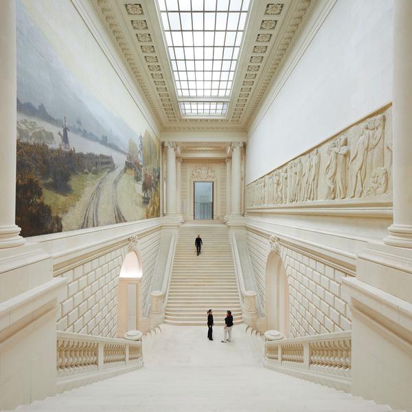 L'escalier monumental. Crédit photographique : Hufton+Crow