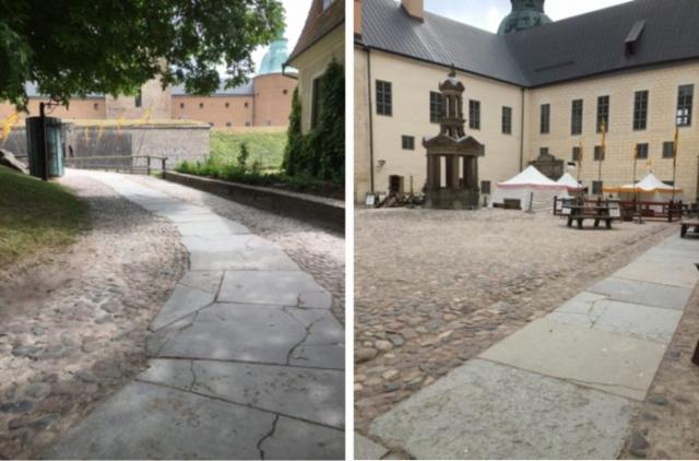 Exterior access ways. Marlene Bergström, SFV- Statens fastighetsverk
