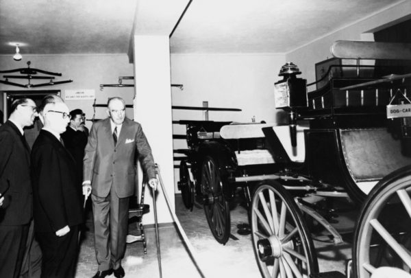 The Carriage Museum in the Mozzi Borgetti Library (1962).