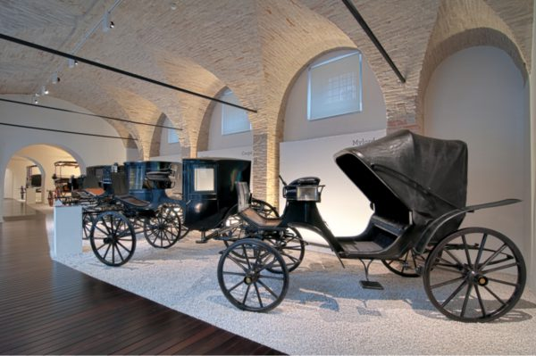 Fig 1. The Carriage Museum in Palazzo Buonaccorsi (2009).
