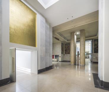 Salle des 4 colonnes. Crédit photographique : Agence Brossy&associés