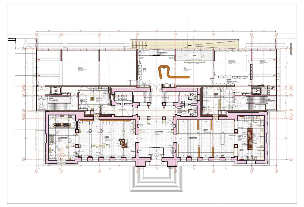 Plan de rez-de-chaussée du Musée. Crédit photographique : Beaudouin-Husson