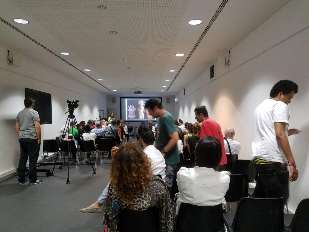 Conférence sur l'Art Brut, 21 juin 2018. Crédit photographique : Musée Granet.