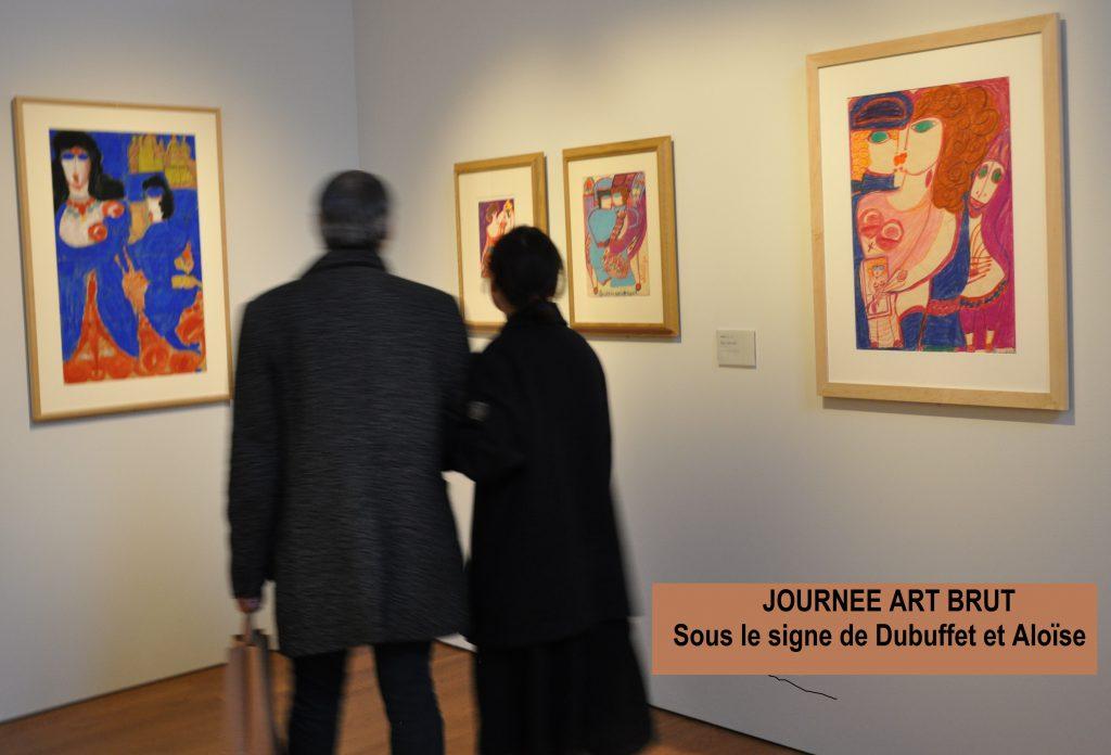 Visite guidée sur Aloïse, 21 juin 2018. Crédit photographique : Musée Granet.