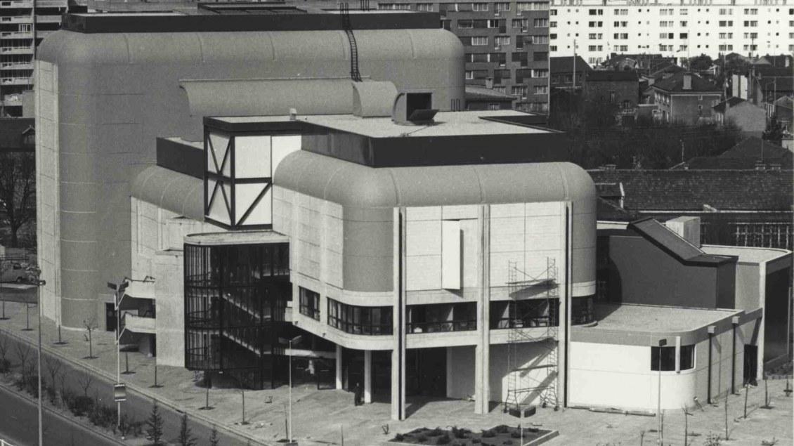 Vue du bâtiment d'origine.