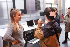 Test avec les usagers sur le casque de réalité virtuelle vidéo 360°