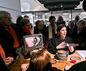 Médiation par les artisans. Crédit : Younh-Ah KIM / Monnaie de Paris